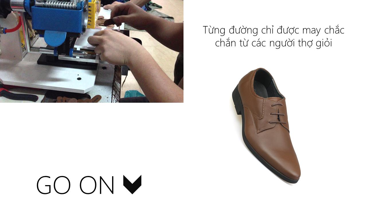 giày nam chất lượng cao thiết kể trẻ trung GCS6023N6