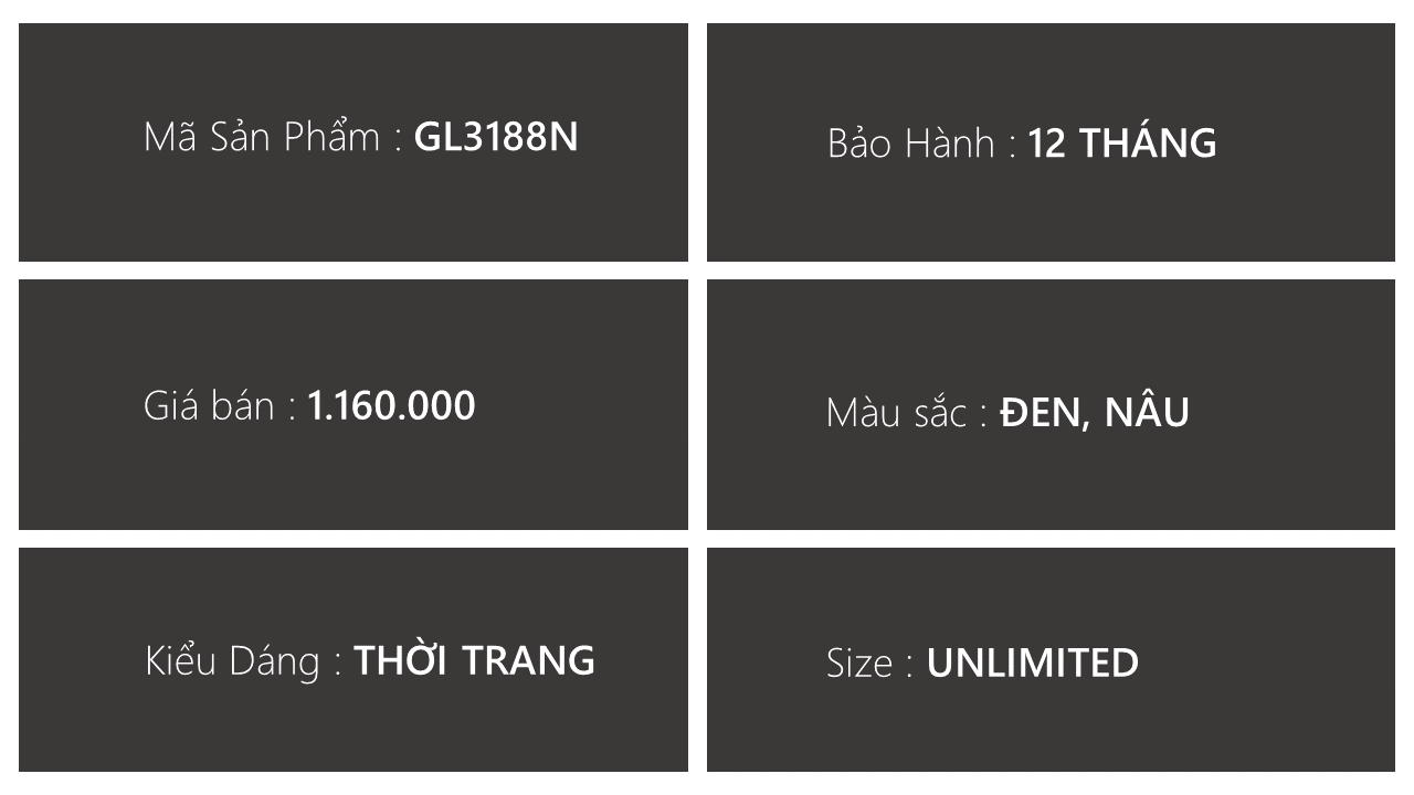 giày lười thương hiệu quốc tế giá tốt GL3188n3