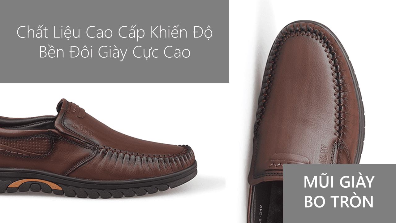giày lười thương hiệu quốc tế giá tốt GL3188n5
