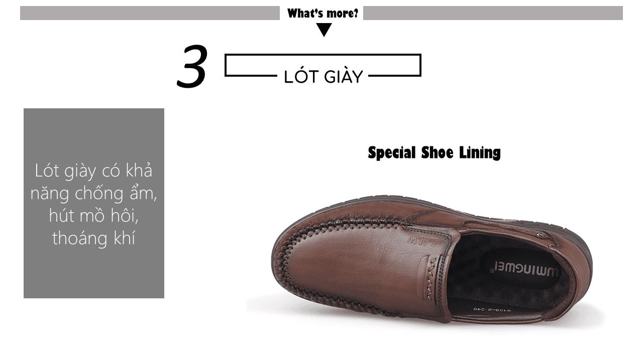 giày lười thương hiệu quốc tế giá tốt GL3188n7