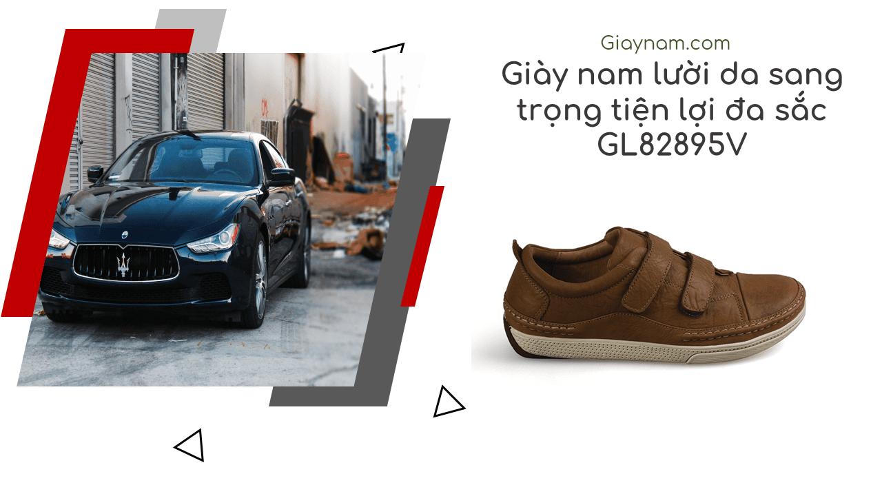 Giày nam lười tiện nghi sang trọng GL82895V1