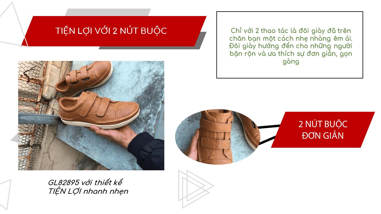 Giày nam lười tiện nghi sang trọng GL82895V10