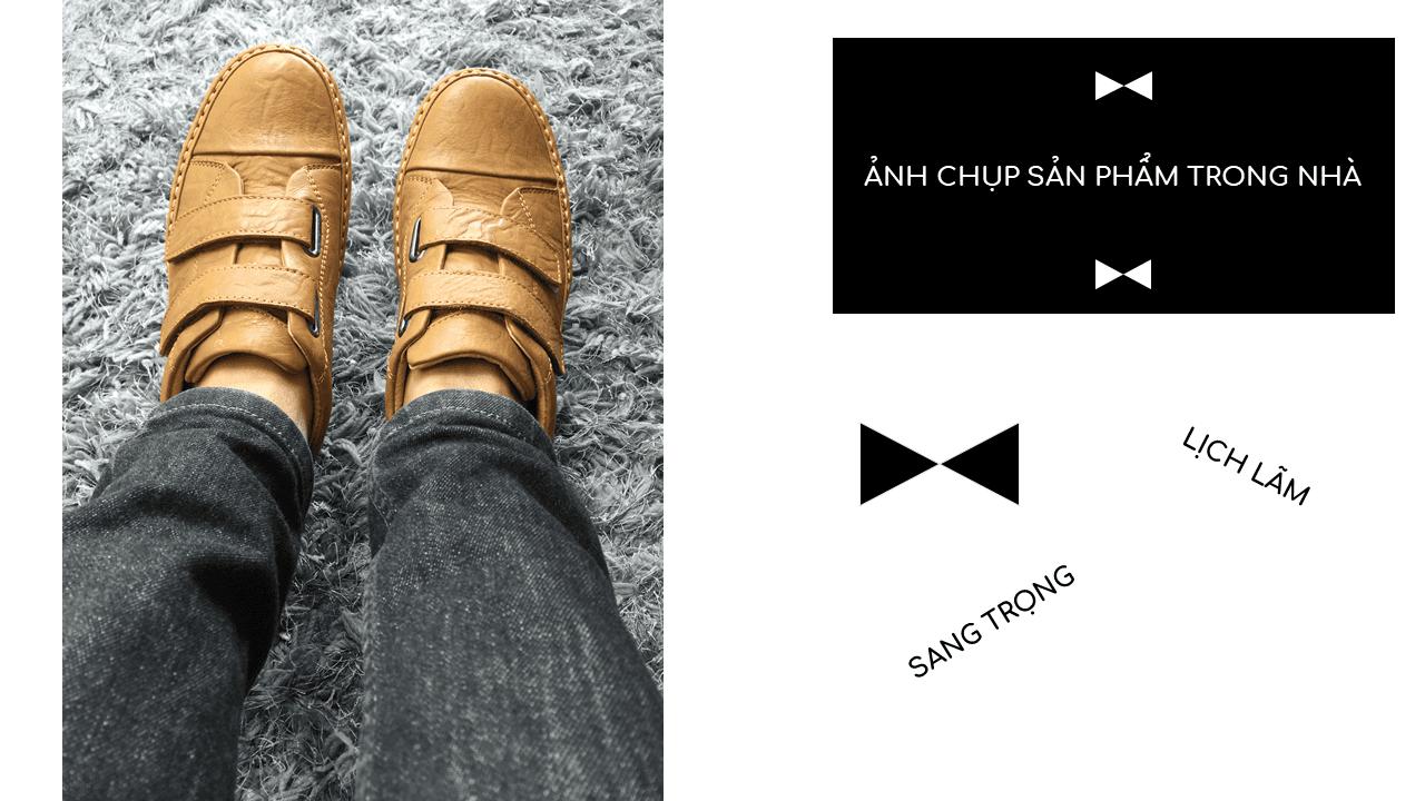 Giày nam lười tiện nghi sang trọng GL82895V19
