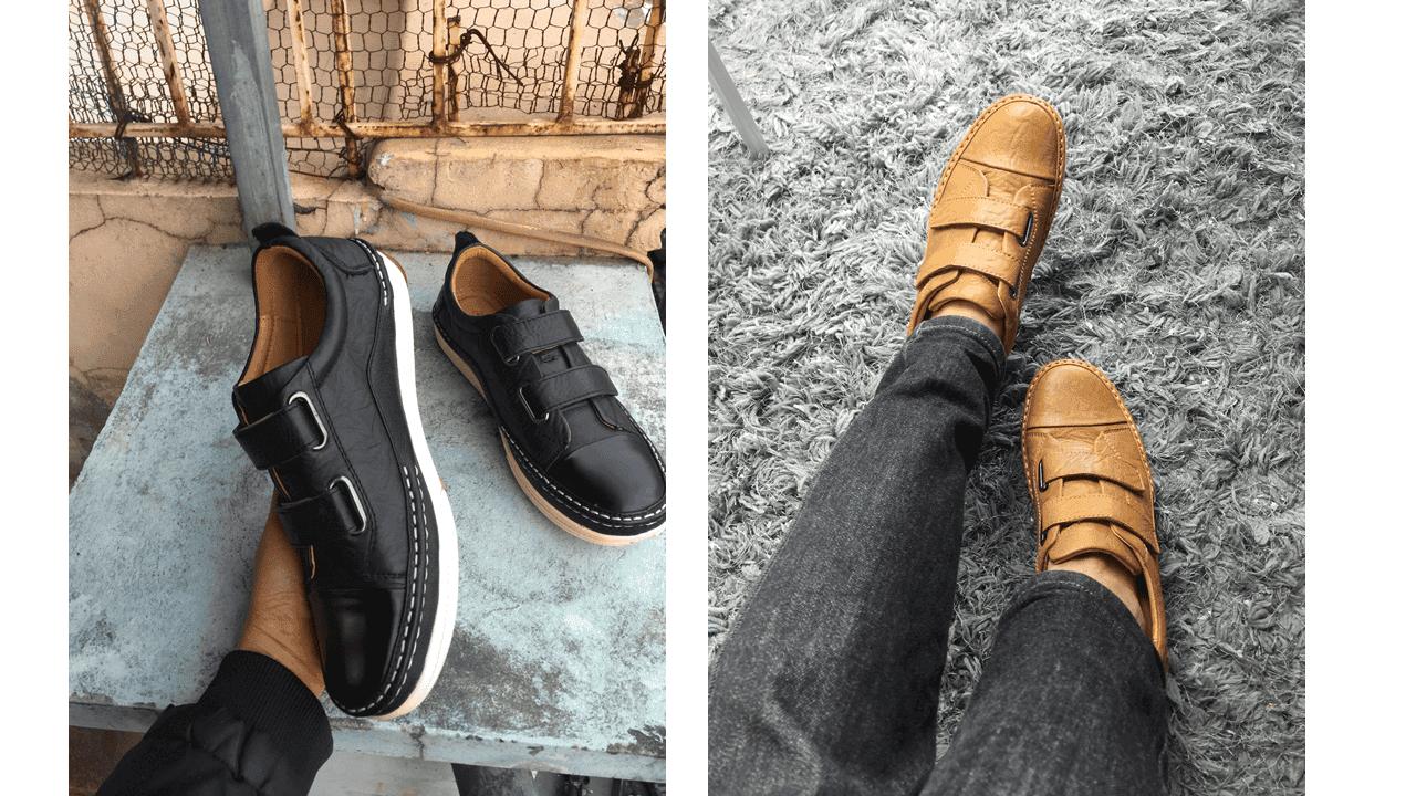 Giày nam lười tiện nghi sang trọng GL82895V20