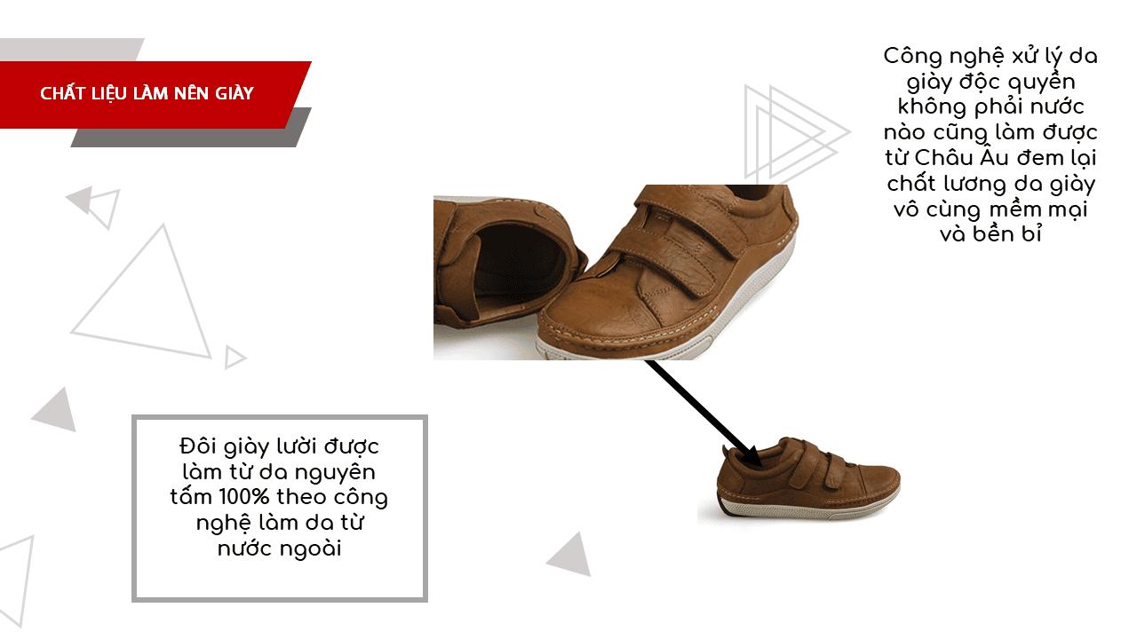 Giày nam lười tiện nghi sang trọng GL82895V5