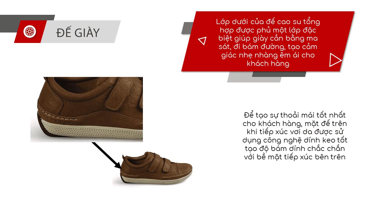 Giày nam lười tiện nghi sang trọng GL82895V6