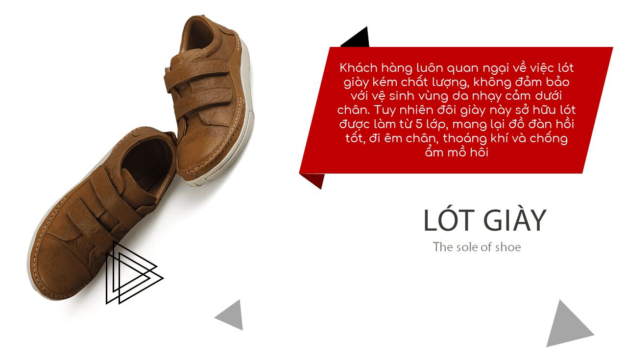 Giày nam lười tiện nghi sang trọng GL82895V7