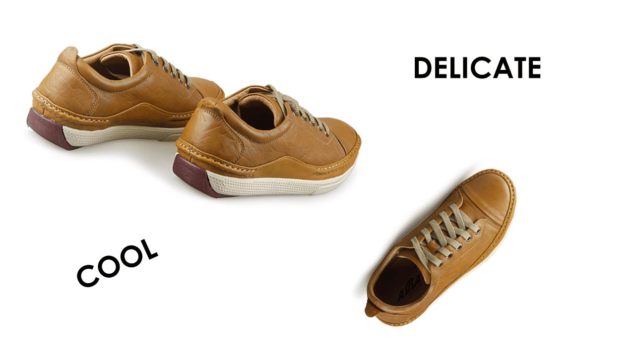 Giày thể thao thời trang buộc dây nam màu vàng truyền thống 2018 BD82891V10