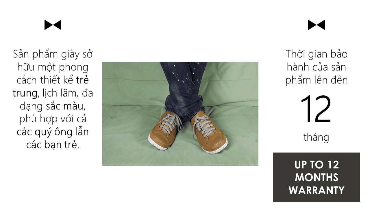Giày thể thao thời trang buộc dây nam màu vàng truyền thống 2018 BD82891V13