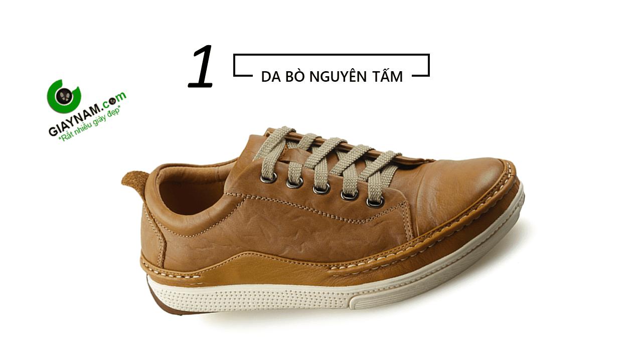 Giày thể thao thời trang buộc dây nam màu vàng truyền thống 2018 BD82891V4