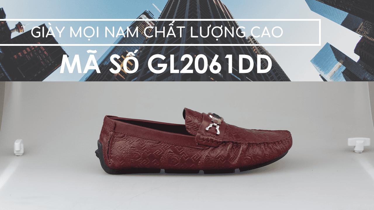 giày lười nhập khẩu thương hiệu versace 2018 GL2061DD1