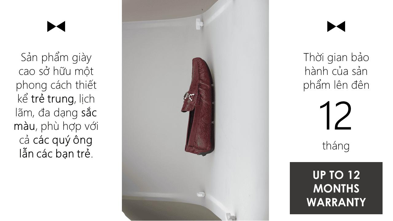 giày lười nhập khẩu thương hiệu versace 2018 GL2061DD11