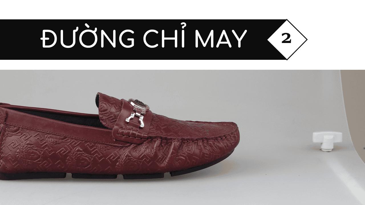 giày lười nhập khẩu thương hiệu versace 2018 GL2061DD5