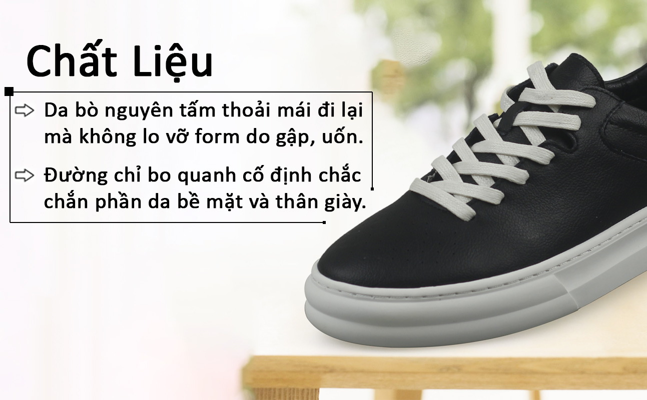 Sneaker thể thao nam trẻ trung BD1985D