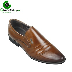 Giày lười công sở SDrolun màu nâu vàng bò mới nhất mã GL21817N