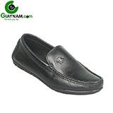 Giày mọi đen họa tiết versace Mã GM6677D