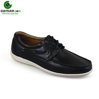 Giày buộc dây màu đen nhập khẩu sang trọng mùa đông mới 2018 MS: BD111218D