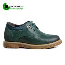 Giày nam da vỡ tăng chiều cao 7cm (Mã:GCD3433X)