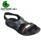 Dép sandal nam mới nhất 2017 với quai chéo màu xanh mã QH972X