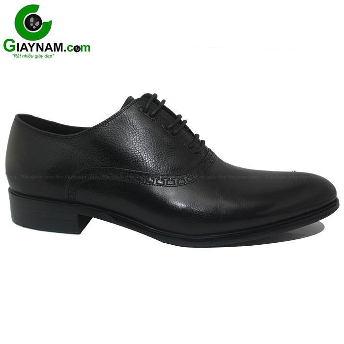 Giày buộc dây cao cấp màu đen Marco mã BD71907M53D