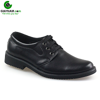 Giày buộc dây hoa văn tinh xảo mũi vểnh màu đen 2018; Mã số BD002D