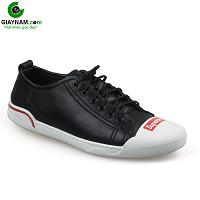 Giày buộc dây màu đen đế trắng phong cách thời trang 2018; Mã số BD3287D