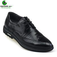 Giày buộc dây màu đen nhập khẩu chính hãng mới 2018; Mã số bd186851d