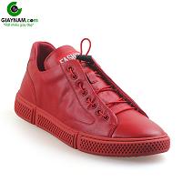 Giày buộc dây màu đỏ cá tính mạnh phong cách thể thao năng động; Mã số BD3305D