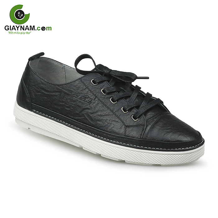 Giày da thể thao thời trang màu đen đẹp nhất hệ mặt trời mã số: 8275D