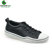 Giày buộc dây thời trang thương hiệu luminguei cao cấp chính hãng màu đen trắng; Mã số BD1210DT
