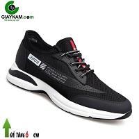 Giày cao 6cm kiểu dáng thể thao năng động thương hiệu GOG 2018; Mã số GC58530D