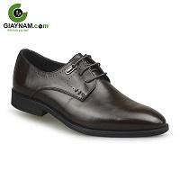 Giày da nam màu nâu cao cấp siêu bền mã số: R327N