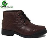 Giày cao cổ màu nâu 2016 mã GCC669637N