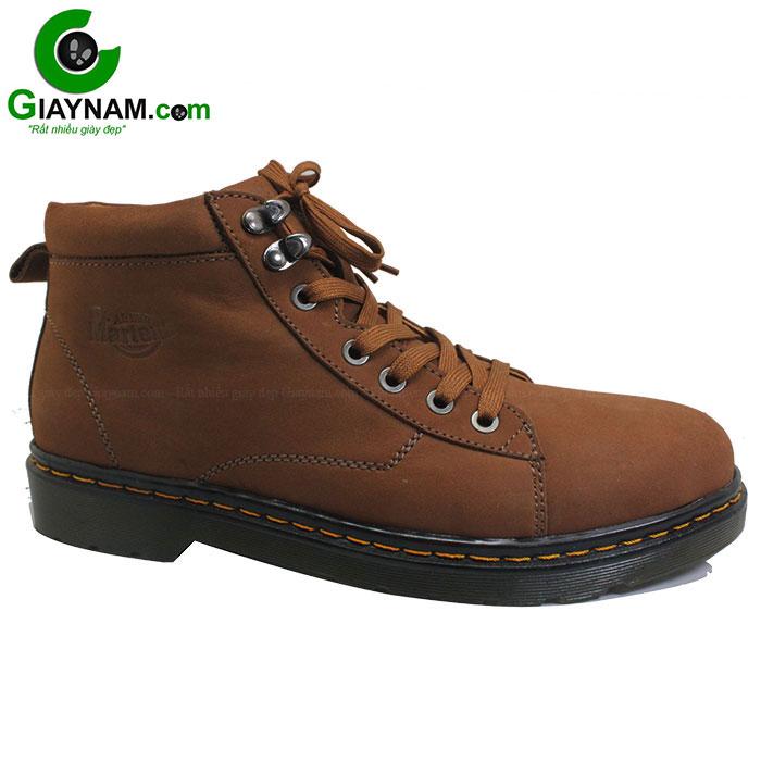 Giày cổ cao nam Dr.Martens màu nâu thu đông 2016 mã GCC372N