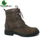 Giày cao cổ nam màu nâu sành điệu mã GCC8642N