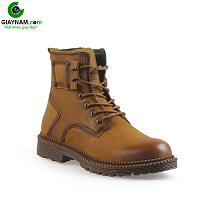 Giày cao cổ thiết kế độc đáo màu vàng quyến rũ ấm áp 2018; Mã số GCC1203V