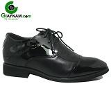 Giày cao nam màu đen công sở mã 73GCD01606D
