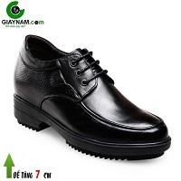 Giày cao nam 10cm nhập khẩu màu đen sang trọng; Mã số GC5625