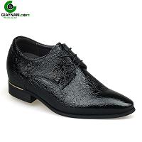 Giày cao nam thương hiệu GOG hoa văn độc lạ 2018; Mã số GC878226D