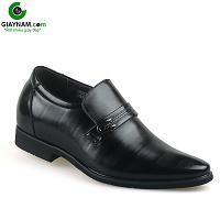 Giày cao nam thương hiệu quốc tế chính hãng màu đen lịch lãm 2018; Mã số GCL23013D