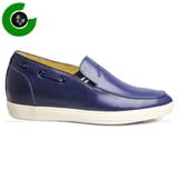 Giày lười cao trẻ trung màu xanh đẹp mã GCL715752X