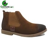 Giày cổ cao nam màu nâu mã 12GCC100N