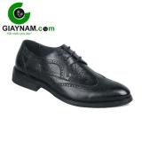 Giày công sở buộc dây cao cấp GOG màu đen mã BD71682D
