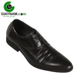Giày công sở Việt buộc dây 2017 màu đen mã BD6023D
