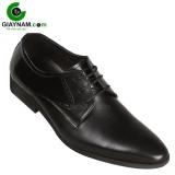 Giày công sở Sdrolun màu đen buộc dây mẫu mới 2017, mã BDT6023D