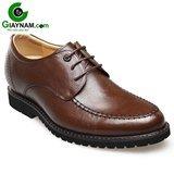 Giày độn đế nam GOG màu nâu mã GCD666066N
