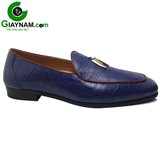 Giày nam lười thời trang mùa thu 2016 xanh blue mới nhất mã GL0091X