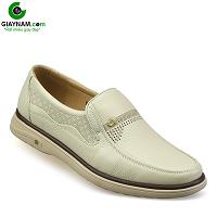 Giày lười màu trắng quý phải rành riêng cho phái mạnh; Mã số GL88823T