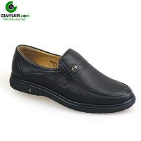 Giày lười cao cấp màu đen thiết kế cổ điển đơn giản 2018; Mã số GL8832D