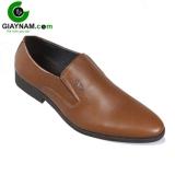 Giày lười công sở nâu xuất khẩu mã GL6022N